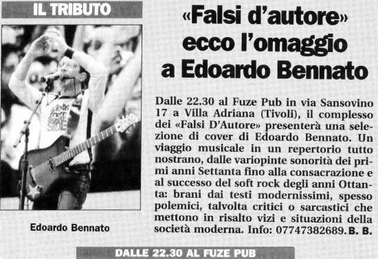IL TEMPO - BARBARA BONURA - 26.11.2004