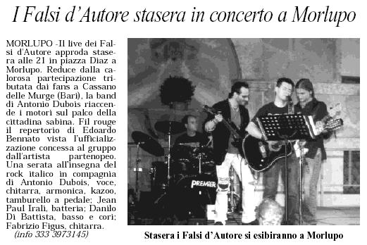 RIETI OGGI 13 AGOSTO 2005