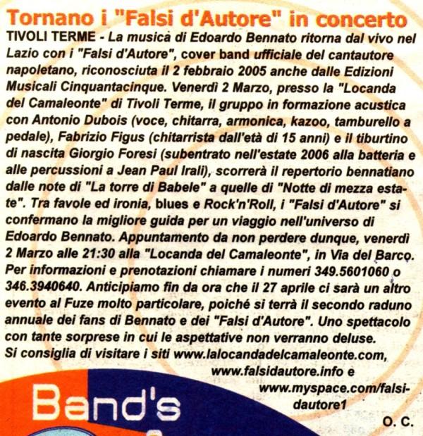 DENTRO -ORNELLA CARADONNA - 2 MARZO 2007