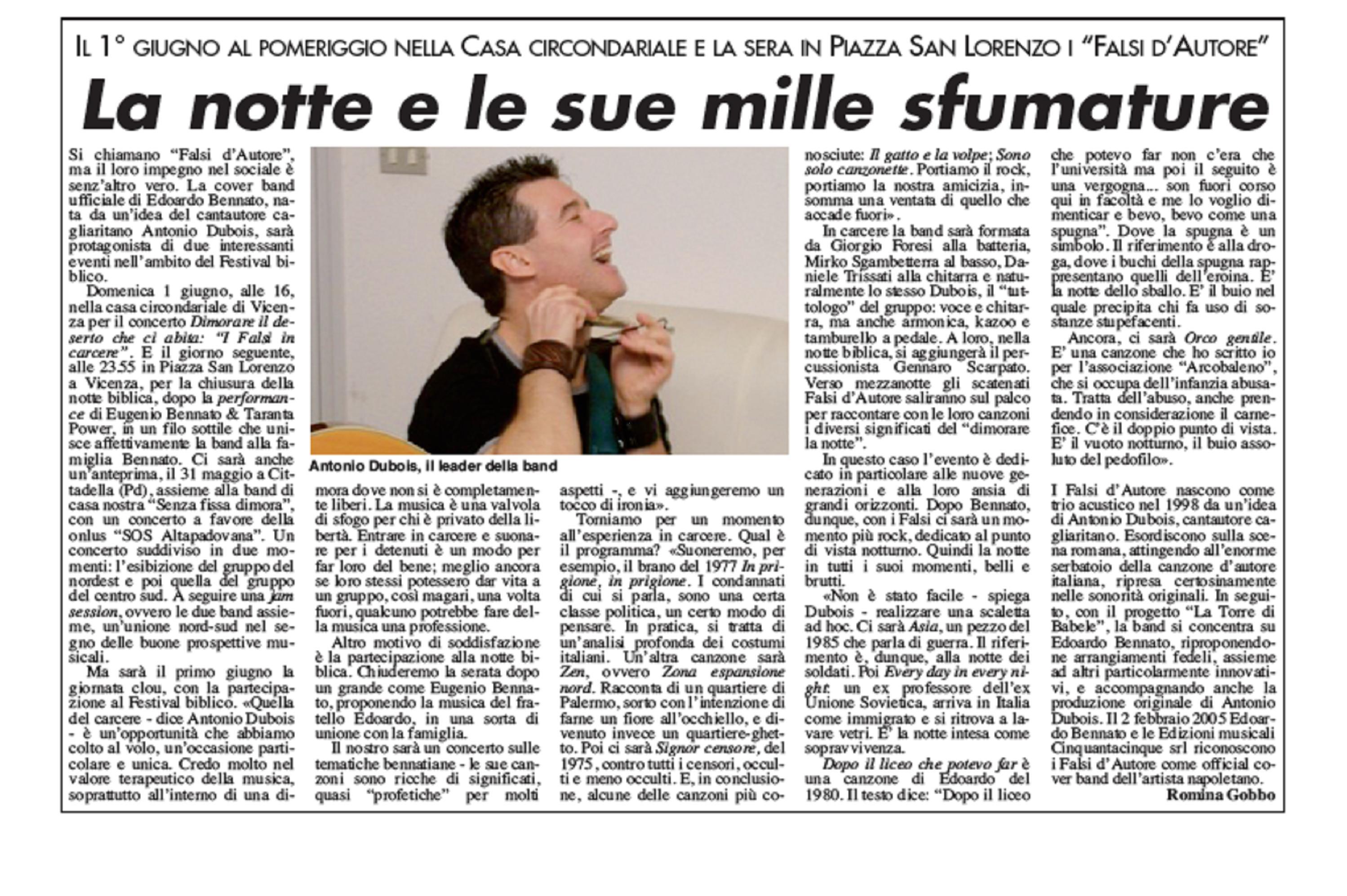 LA VOCE DEI BERICI - 1 GIUGNO 2008